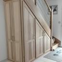 Escalier et placards