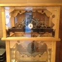 plan horloge en bois
