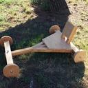 Petit kart en bois