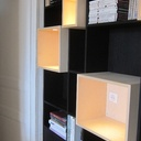 Bureau et bibliothèque Lévitation -