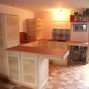 La petite cuisine en frêne