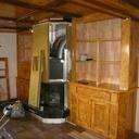 Bibliothèque pour meubler le coin cheminée