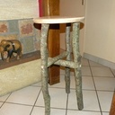 Tabouret de bar forestier