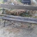 Restauration d'un banc de jardin