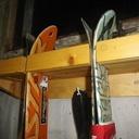 Etagère matos de ski et de montagne