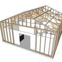 Futur Atelier qui va servir de maison dans un premier temps!
