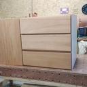 Une armoire modulaire