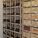 Plans du casier à bouteilles et caisses de vins