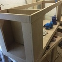 Structure de la table basse aquarium