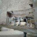 Restauration d'un pied de chaise.