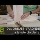 Une façon originale de tailler des queux d'arond