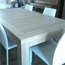 Table a rallonges chêne