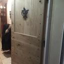 Porte d'entrée style cochonnière
