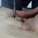 Serre-joint hold down en lamellé-collé