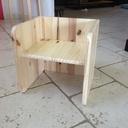 Chaise réversible pour enfant