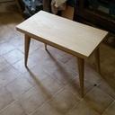Voici une table basse de style suédois en frêne massif et latté frêne   réaliser il y a 2 ans