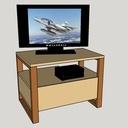 Meuble tv Noyer hêtre