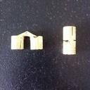 Charnières (10 mm).