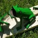 Jeu de grenouille a palets
