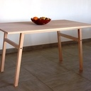 Table en hêtre