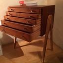 Restauration d'un petit meuble 50's