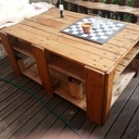 Table basse terrasse