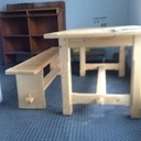 Table avec son banc