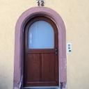 Porte d'entrée plein cintre