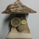 Mangeoire champignon