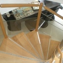 Etude et tracé d'un escalier hélicoïdal sur plan octogonal