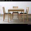 James Mudge - Mobilier design