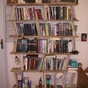 Etagère bibliothèque recyclage