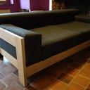 Canapé en chêne