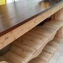 Buffet bar dans la cuisine