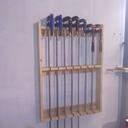 Un rack a serres joint en bois de palette