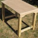 Bureau en bois pour enfants