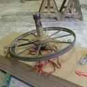 La roue supérieure