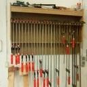 Rack de rangement pour serre-joint