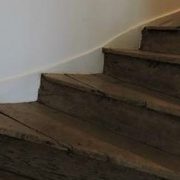 escalier avec marches contremarches (fabrication ancestrale)