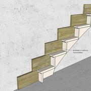 Stylobate en sections horizontales