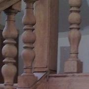 poteau d arrivée ancien à deux tetes