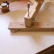 Essais de découpe des roues au pantographe pour défonceuse