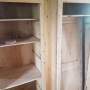 armoire de jardin bois
