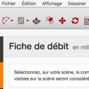 Un autre plugin Sketchup pour les fiches de débit ?