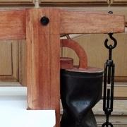 Un tendeur classique et la partie soufflet en cuir