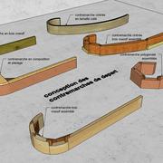 exemples de conceptions de contremarches de départ d escalier