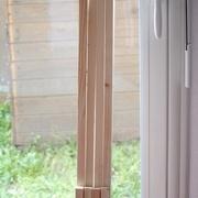 Je decoupe les bouts de bois pour le cadre