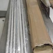 tubes inox supports d'étagères