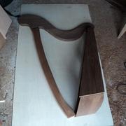 un aperçu de l'allure finale de la harpe