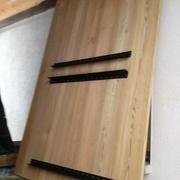 palier fixé par fer plat vis 7*40 tout les 6 cm
